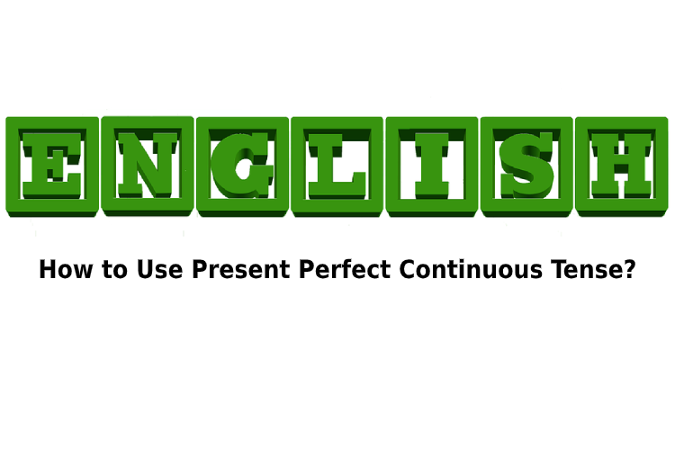 formula of present perfect continuous tense
